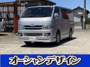 トヨタ レジアスエースバン ロングDX 4WD ディーゼル HID 荷室マット新品 ETC CD