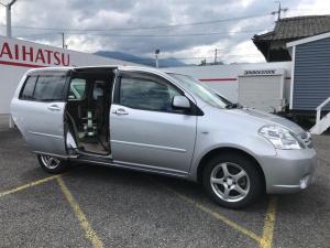 トヨタ ラウム  福祉車両 AT アルミホイール オーディオ付 片側電動スライドドア CDMD