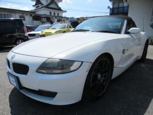 BMW Z4 ロードスタ2.5i 検4年4月 HDDナビ ADVAN19