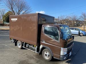 三菱ふそう キャンター  車両重量:4205Kg/5t未満車両 日本フルハーフ荷台 走行80000キロ台 AT・マニュアルモード車 最大積載量1500Kg 排気量3000ccデーゼルターボ
