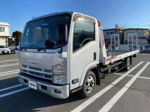 いすゞ エルフトラック  キャリアカー 積載車 ユニック カーナビ ETC