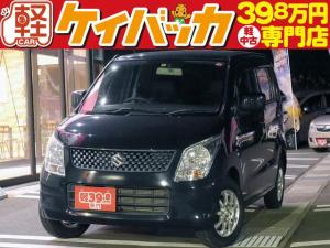 スズキ ワゴンR FX 純正CDオーディオ 社外13インチアルミホイール ABS Wエアバッグ イモビライザー