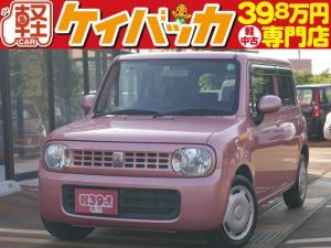 スズキ アルトラパン G スマートキー プッシュスタート 純正CDオーディオ フル装備 ABS Wエアバッグ イモビライザー