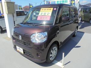 ダイハツ ムーヴキャンバス X SAIII  4WD  届出済未使用車