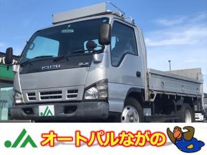 いすゞ エルフトラック 平ボディ パワーゲート リフト600kg 集中ロック