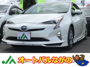 トヨタ プリウス A 4WD モデリスタエアロ 誤発進抑制 純正ナビ・TV