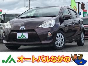 トヨタ アクア S プッシュスタート メモリーナビ Bカメ ワンセグTV