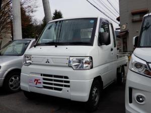 三菱 ミニキャブトラック ダブルキャブ エアコン パワステ 4WD オートマ
