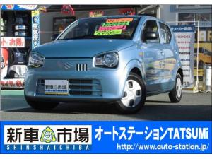 スズキ アルト L 禁煙車 ワンオーナ- CD アイドリングストップ ABS