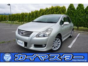 トヨタ ブレイド 2.4G 4WD 純ナビ 外ETC 16AW/深溝夏T・冬T