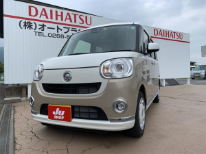 ダイハツ ムーヴキャンバス Gメイクアップリミテッド SAIII 4WD 両側パワースライドドア パノラマモニター