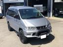 三菱/デリカスペースギア シャモニー 4WD 8人乗り 社外アルミ マッドタイヤ ナビ