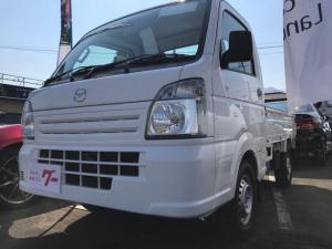 マツダ スクラムトラック KCエアコンパワステ農繁 4WD 5速MT 作業灯 デモカー