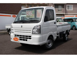 スズキ キャリイトラック KCパワステ農繁仕様 5MT 4WD 届出済未使用車