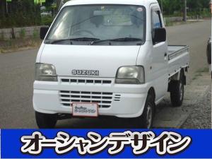 スズキ キャリイトラック KU 4WD CD AC