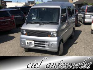 三菱 ミニキャブバン CD オーディオ・社外ドアスピーカー 4WD