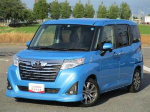 トヨタ ルーミー カスタムG-T 元当社試乗車・純正9インチナビ・Bモニター