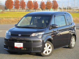 トヨタ スペイド F 純正SDナビ フルセグTV ETC スマートキー 助手席側電動スライドドア 純正15インチアルミホイール
