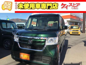 ホンダ N-BOX G・Lホンダセンシング 届出済未使用車 CVT 左側電動スライドドア シートヒーター