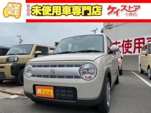 スズキ アルトラパン G 届出済未使用車 CVT 4WD クリアランスソナー