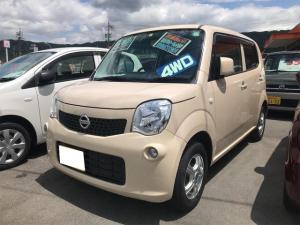 日産 モコ S FOUR 4WD シートヒータ キーレス ETC