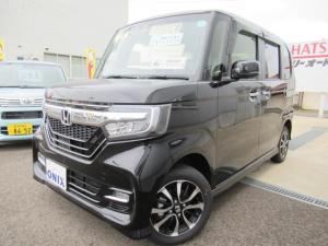 ホンダ N-BOXカスタム G・Lホンダセンシング 4WD ナビフルセグTVバックカメラ