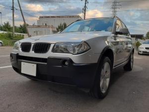 BMW X3 2.5i 4WD車検R4/10