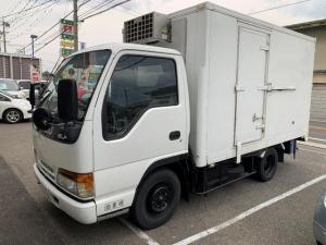 いすゞ エルフトラック 2t 冷蔵冷凍車 5MT エアコンパワステ