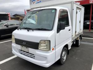 スバル サンバートラック  冷蔵冷凍車 5MT 切り替え式4WD エアコンパワステ