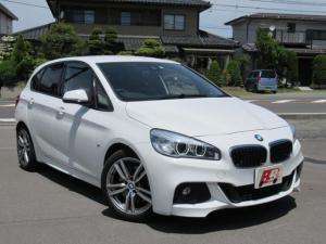 BMW 2シリーズ 225i xDriveアクティブツアラー Mスポーツ 4WD ターボ  純正18インチAW 純正ナビ/TV/Bモニター LEDヘッドライト パワーバックドア 車検令和4年11月