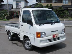 スバル サンバートラック TC 4WD 5MT エアコン付 実走行9200キロ
