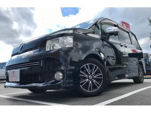 トヨタ ヴォクシー ZS 煌II 4WD 両側パワスラ 社外ディスプレイオーディオ Bモニター DVD再生 ETC 冬タイヤ有り