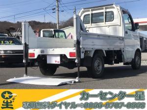 スズキ キャリイトラック 4WD 垂直パワーゲート 5速マニュアル エアコン パワステ