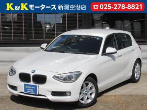 BMW 1シリーズ 116i 清掃除菌済 関西仕入 ターボ スマートキー バックカメラ 障害物センサー オートHIDライト HDDナビ ミュージックサーバー オートエアコン 純正アルミホイール DVD再生 ETC アイドルストップ