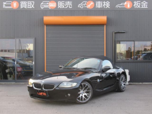 BMW Z4 2.5i 社外18AW HDDナビ 黒革 電動オープン HID