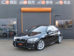 BMW 1シリーズ 116i Mスポーツ 関東仕入 革シート 純正HDDナビ Bカメラ ガラスフィルム