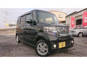 ホンダ N-BOXカスタム G・Lパッケージ 4WD エンスタ ETC 社外ナビ 保証有