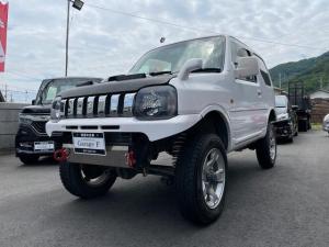 スズキ ジムニー XA リフトアップ ハンドル ターボメーター ショートバンパー リアバンパー マフラー MT ターボ 4WD 色変え
