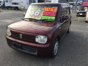 スズキ アルトラパン G 4WD ワンオーナー 禁煙車 シートヒーター CD スマートキー ベンチシート 盗難防止装置