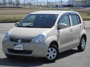 トヨタ パッソ X クツロギ CD・スマートキー・1年ロングラン保証付