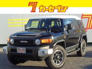 トヨタ FJクルーザー ブラックカラーパッケージ 4WD ワンオーナー ナビ&TV Bカメ ETC