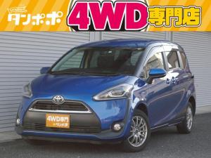 トヨタ シエンタ G 4WD ストラーダSDナビ フルセグTV トヨタセーフティセンス LEDヘッドライト 両側PSドア スマートキー バックカメラ 社外AW
