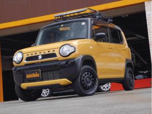 スズキ ハスラー G 4WD 5MT 純正ワンセグナビ 運転席シートヒーター キーレス アイドリングストップ
