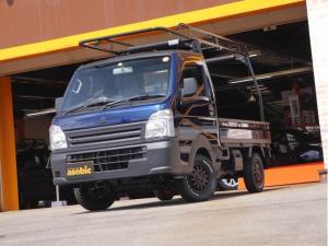 スズキ キャリイトラック KCエアコン・パワステ農繁仕様 KC農繁仕様 4WD エアコンパワステ付 5MT車 走行キョリ100Km程度の低走行車
