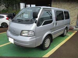 マツダ ボンゴバン  4WD 左側のみスライドドア 乗車定員3人 CD+ラジオ スタッドレスタイヤ有 フロントパワーウインド フロントフォグランプ