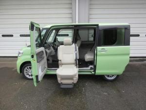 ダイハツ タント  4WD 助手席リフトアップシート X SA 左パワースライドドア 右イージークローザードア 禁煙車 ETC バックカメラ オートエアコン エコアイドル