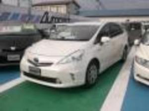 トヨタ プリウスアルファ S チューンブラック CVT メモリーナビ地デジ