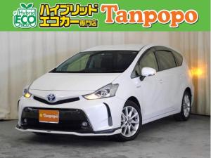トヨタ プリウスアルファ Sツーリングセレクション 純正SDナビ フルセグTV ETC