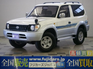 トヨタ ランドクルーザープラド RX ショートボディ 5MTディーゼルターボ 3連メーター