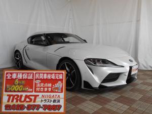 トヨタ スープラ RZ 登録未使用車 トヨタスープラセーフティ JBLサウンド